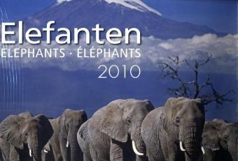Weingarten-Kalender Elefanten 2010