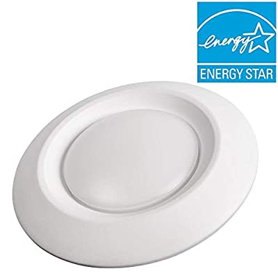 Commercial Electric 6 in. Soft White Recessed LED Can Disk Light