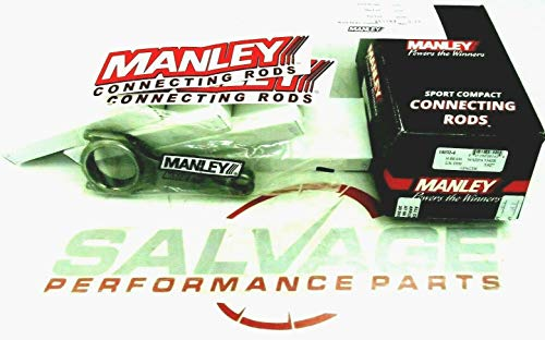 Manley Rod - Manley 14032-4 H-Beam Alloy Connecting Rods MAZDASPEED Mazda 3 6 Speed