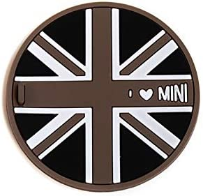 Union Jack with Heart, 1 peace of 72mm YaaGoo Drink Holders Cup Mat Coasters 1 pcs