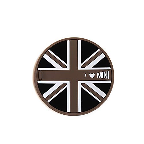 2.83in,Checkered yi tech industry ltd. 1 peace of Soft Silicone Cup Holder Mat Coaster For Mini Cooper R50 R52 R53 R61 R60 R55 R56 R57 R58 R59 F54 F55 F56 F57 F60 Clubman Countryman,1 pcs