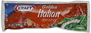Kraft Golden Italian Salad Dressing, 1-Ounce Packages (Pack of 100)