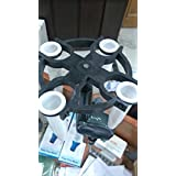 Blood Centrifuge Machine Hand Driven 4 Tubes