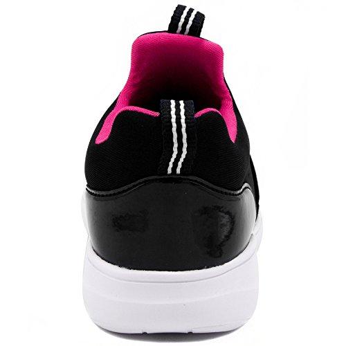 Sneaker Slip Kid Little Nautica Lace Black Slip up Running On Kids On Girls Big Shoes Fashion Kid qSSH7t