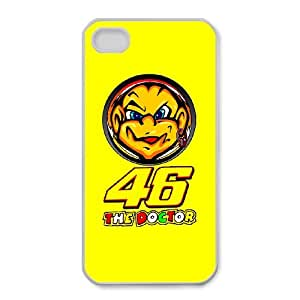 Fashionable Creative valentino-rossi-the-doctor-ducati Cover case For iPhone 4,4S SY3M93367