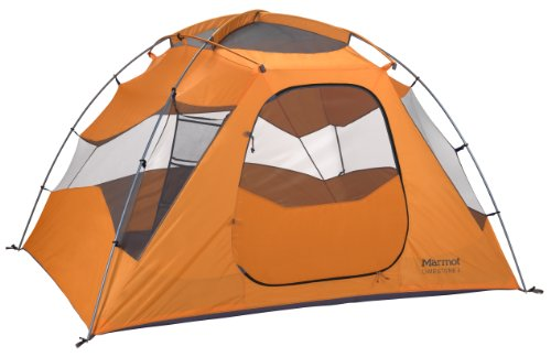 Marmot Limestone 4 Persons Tent, Orange, One, Outdoor Stuffs