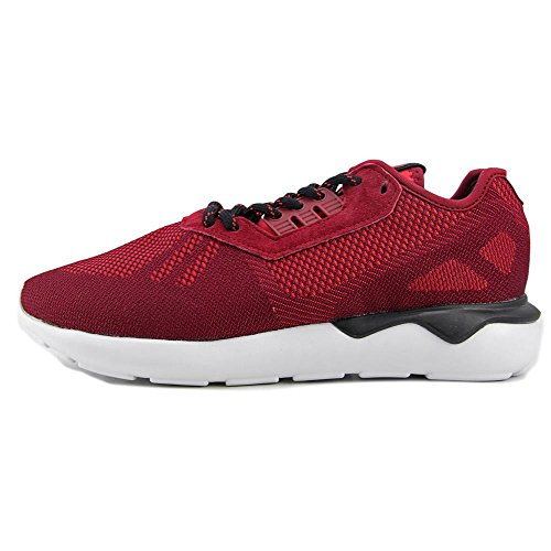 Black Runner Baskets adidas Tubular Burgundy Weave Collegiate Synthétique aqFwW065w7