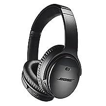 Bose QuietComfort 35 wireless headphones, Noise Cancelling, Black (Series II)