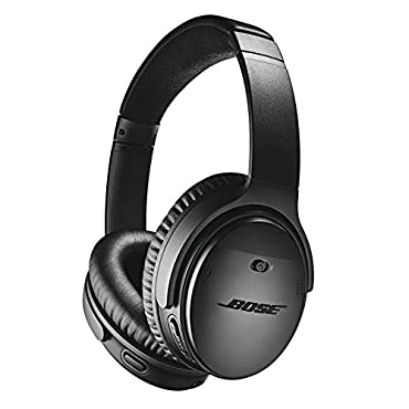 Bose QuietComfort 35 (Series II) Wireless Headphones, Noise Cancelling Black
