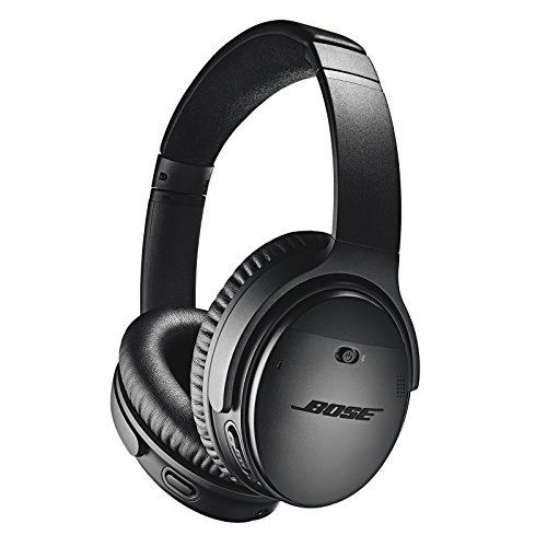 Bose QuietComfort 35 (Series II) Wireless Headphones, Noise Cancelling, with Alexa voice control – Black