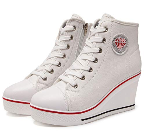 Zapatillas Weiß Zapatillas altas Solshine Zapatillas Weiß Mujer Mujer Solshine Mujer Solshine Weiß altas altas IqUY6xgIw