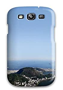 Anti-scratch And Shatterproof Rio De Janeiro Panorama Phone Case For Galaxy S3/ High Quality Tpu Case