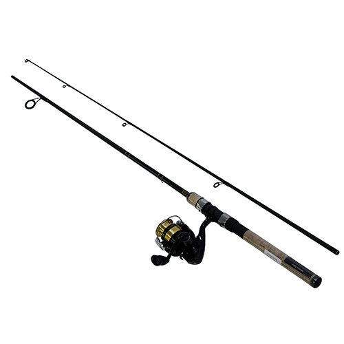 Daiwa DSK20-B/F602ML D-Shock Freshwater Spinning Combo, 1 Bearing, 6' Length, 2Piece Rod, Medium/Light Power, Fast Action, Ambidextrous (Ultralight Spinning Combo)