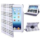 Tablet Cases & Covers , 360 Degree Rotatable Scotland Gyrosigma Case with Holder for iPad 4 / New iPad (iPad 3) / iPad 2 ( SKU : S-IPAD3-0510SG )