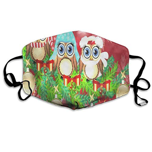 FunnyCustom Mouth Mask Floral Surgical Mask Winter Warmth Healthy Windproof for Women -