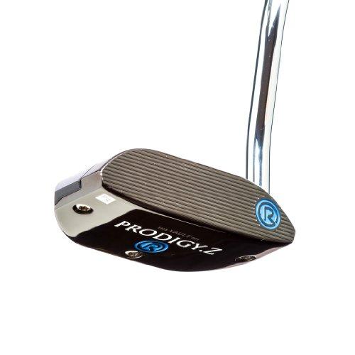 Rife Prodigy Z Black/Black Heel Shaft Mallet Golf Putter, 34-Inch, Right (Affinity Putter)