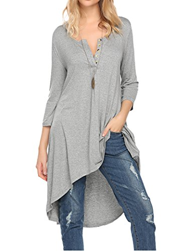 Naggoo Womens Sleeve Loose Casual
