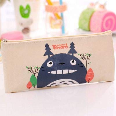 Cute Kawaii Fabric Pencil Case Lovely Cartoon Totoro Pen ...