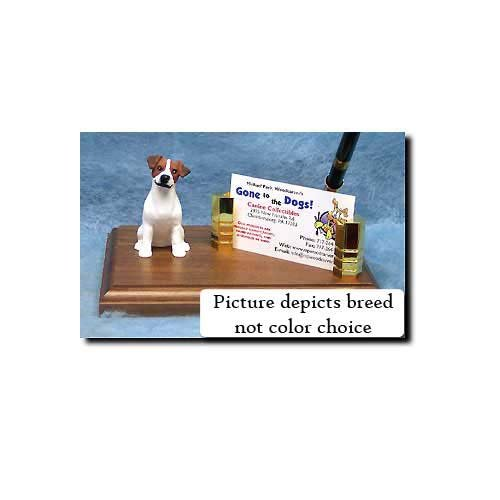 Parson Russell Terrier Figurine (Parson Russell Terrier (Brown and White) Desk Set)