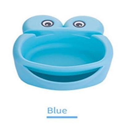 Komener_ Dispensador de Agua para Mascotas Cat Dog Automatic Circulation Water Bowl (Azul)