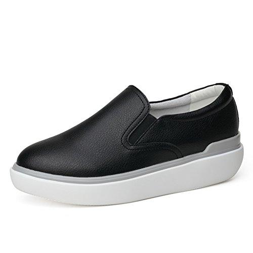 Manantiales Zapatitos Blanco,Zapatos De Cuero De Lok Fu,Zapatos Planos De Estilo Coreano,Calzado Casual,Zapatos De La Muchacha Del Estudiante Del,Zapatos Nude B
