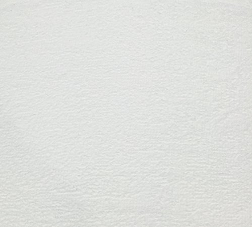4 Yard Bolt Anti Pill White Fleece Polyester (100 Cotton Fleece)