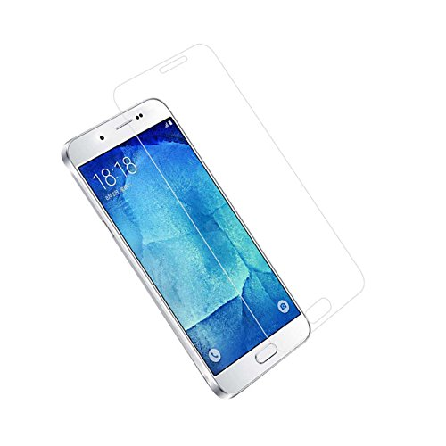 Tempered Glass for Samsung Galaxy A8 (Clear) - 8