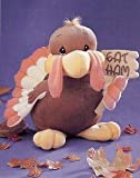 """Tender Tails Turkey with """"Eat Ham"""" sign by Enesco Precious Moments"""