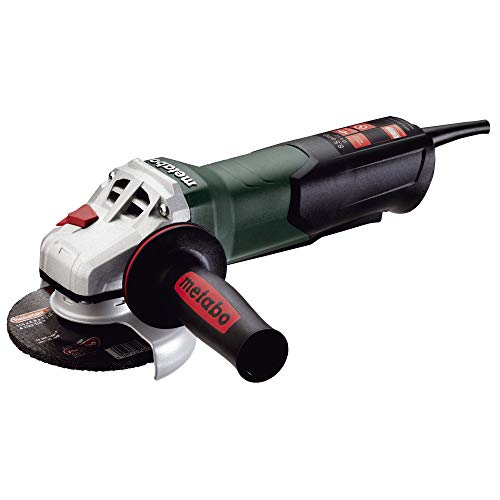 """Metabo WP9-115 Quick 8.5 Amp 10,500 rpm Angle Grinder with Non-locking Paddle Switch, 4 1/2"""""""