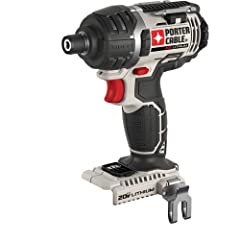 The PORTER-CABLE PCC640B 20V Max Impact Driver Bare Tool features a high torque motor that delivers 1,495 in/lbs of torque. The high performance transmission delivers 0-2,900 RPM, 0-3,100 BPM for quick fastening applications. This compact too...