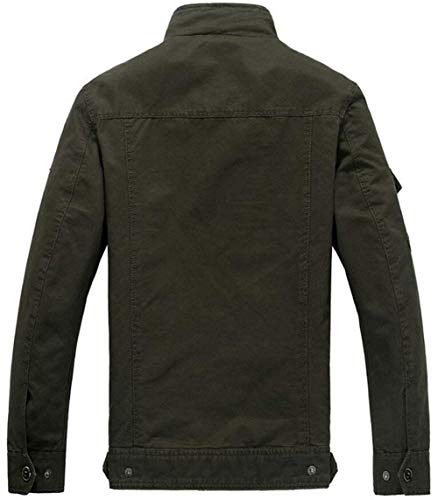Pile Chic Parka Da Cotone Campo M In Giacca Jacket Schwarz Outdoor Slim Uomo 05 Pilota color Invernale Size n1wAq0Rf