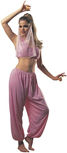 Rubie's Costume Women's Arabian Princess Adult Fuller Cut Value Costume, Pink, One Size