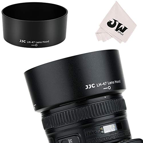 JJC Reversible Lens Hood Shade Cover HB-47 Replacement for Nikon AF-S Nikkor 50mm F1.8G (Special Edition) & 50mm F1.4G Lens on D850 D810 D750 D610 D7500 D7200 D7100 D5600 D5500 D3500 D3400 D3300