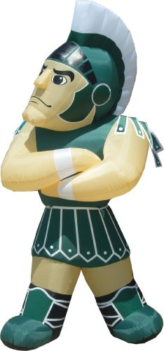 NCAA Michigan State Spartans Sparty Inflatable Lawn Decoration