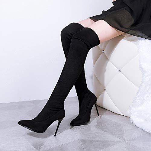 EU 5 Femme 55 1 906 Noir 36 Noir pour Bottes Renly gv6141