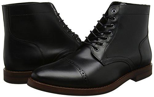 Bertie Bertie Bertie Compound Black Black Black Stivali Leather Nero Uomo rAcTSr