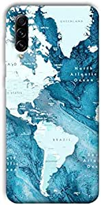 case box Map Back cover for Samsung Galaxy A70s