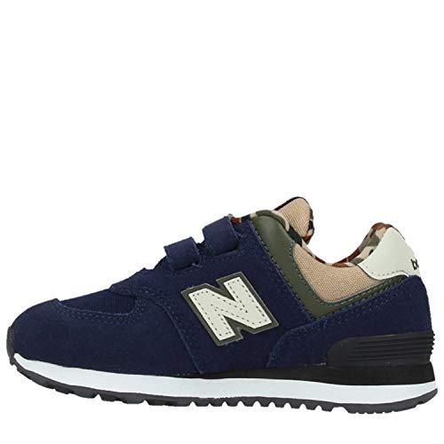 Fille Chaussure New Pigment Pour Balance Blue 787nxpgw