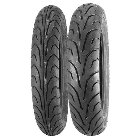 Dunlop GT501G Tire - Rear - 130/70-17 , Position: Rear, Tire Size: 130/70-17, Rim Size: 17, Speed Rating: V, Tire Type: Street, Tire Construction: Bias, Tire Application: Sport 300417