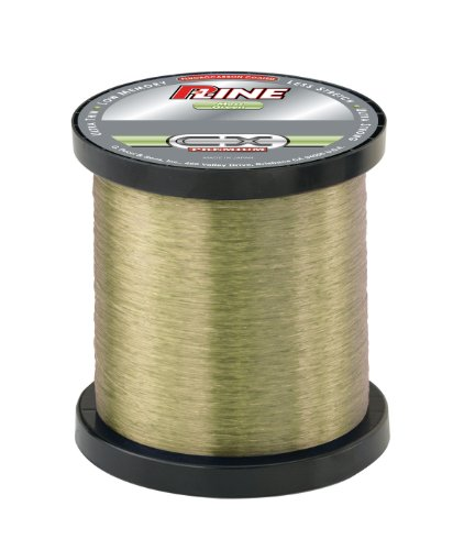 - P-Line CX Premium Fluorocarbon Coated Bulk Fishing Spool (3000-Yard, 20-Pound, Moss Green)