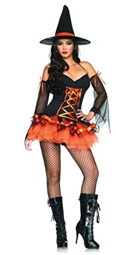 Hocus Pocus Movie Costumes Adults (Hocus Pocus Hottie Adult Costume - Small/Medium)