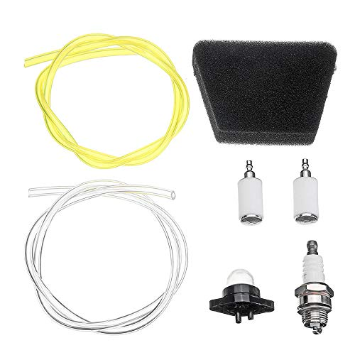 Fuel Line Filters Air Filter Tune Up Kit Fuel Filter For Poulan Craftsman McCulloc Craftsman: