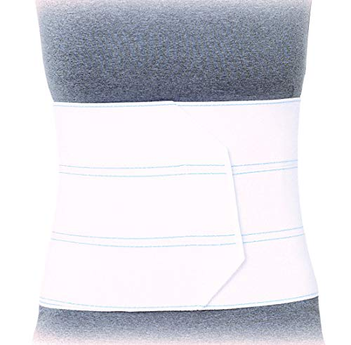Superior Braces Premium Abdominal Binder for Waist and Back Support, Compression Wrap, Post Surgery Support (3 Panel - Large/XLarge - 45