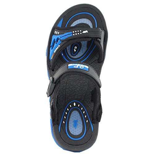 Gold Pigeon Shoes Gp9153 Uomo Donna Air Max Sandali Sportivi Con Chiusura A Scatto Con Supporto Per Arco 7676 Blu