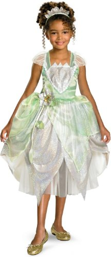 [Deluxe Princess Tiana Costume - X-Small] (Tiana Costume For Infant)