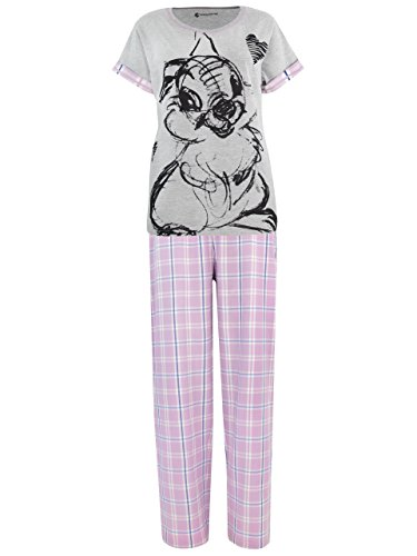 Disney Womens' Bambi Thumper Pajamas Size (Disney Character Image)