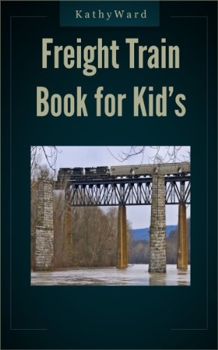 - Freight Train Book for Kids With Railroad Signals