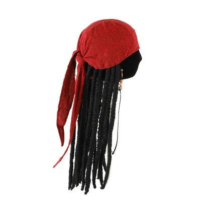 Adult Jack Sparrow Hat (elope Jack Sparrow Scarf with Dreads)