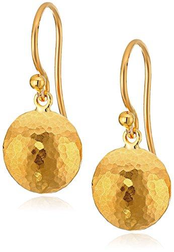 """GURHAN """"Lentil"""" 24k Gold Hook"""