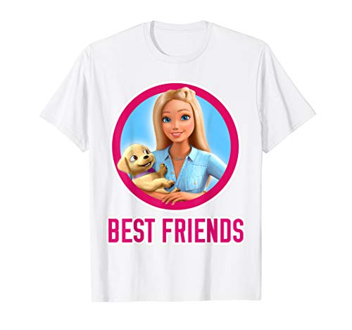 Barbie Dreamhouse Adventures Barbie and Puppy T-shirt